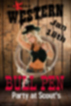 Poster Bull Pen Party - Made with Poster