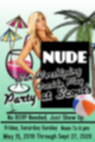 Poster Nude Sun Worhsiping - Made with P