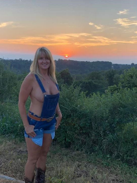 Lorrie and Scout's Sunset 4-2-20