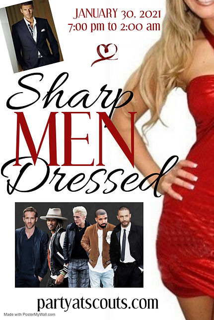 Poster Sharp Dressed Men - Made with Pos