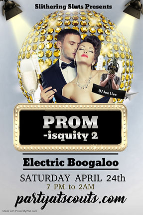 Poster PROM iscuity - Made with PosterMy