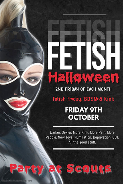 Copy of Fetish Party Poster - Made with