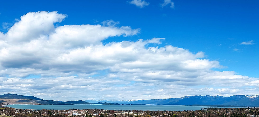 View of Flathead from the Winery