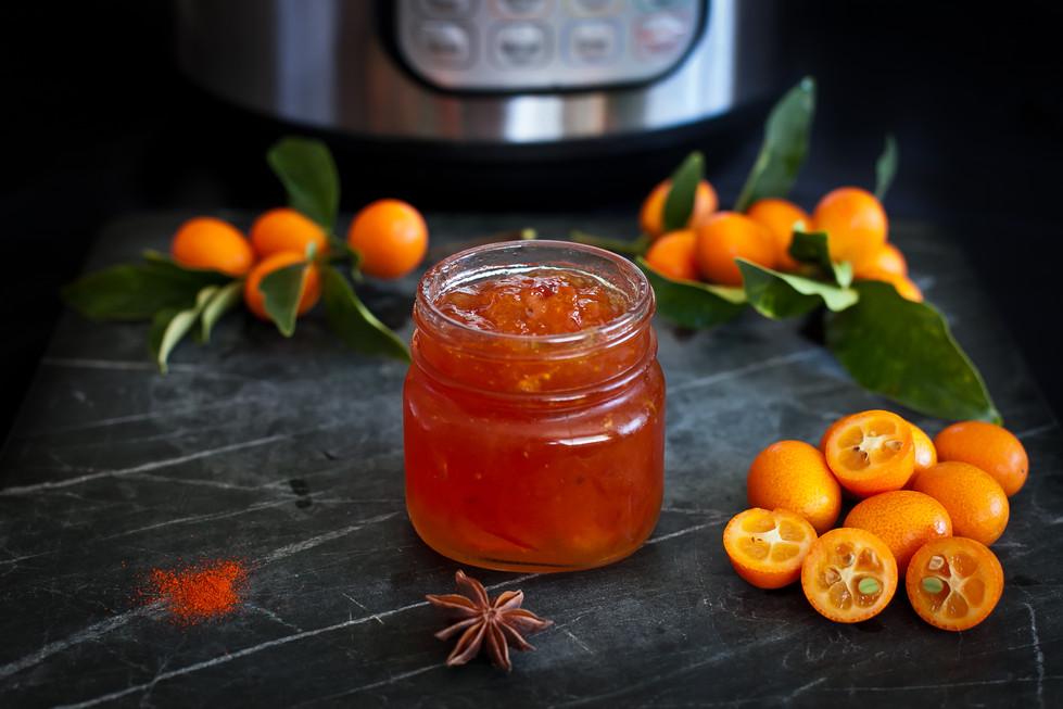 Instant Pot Kumquat Marmalade