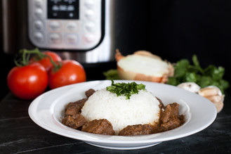 Instant Pot Indian Beef Curry