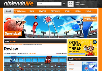 Nintendolife Sportsball Review
