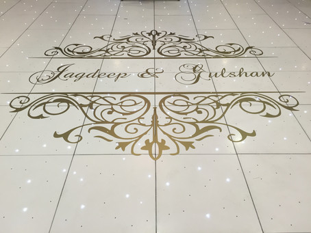 It's easy to add style to any event with Dancefloor Deco's Decals