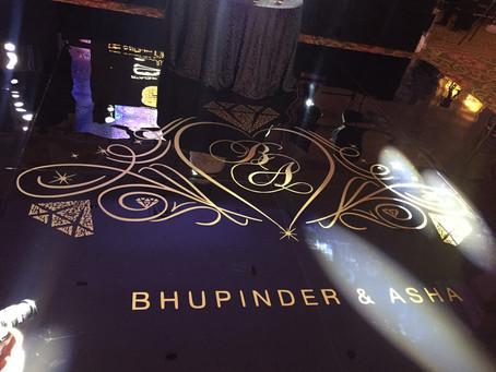Asha & Bhupinder's Wedding Reception at Grosvenor House, Mayfair