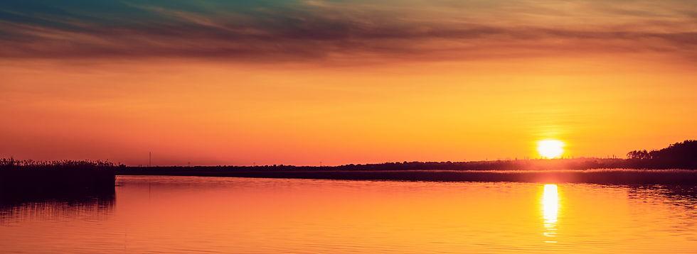 Sunset Over Lake -587543964.jpg