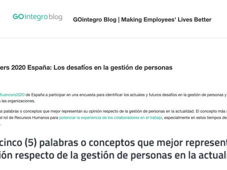 GOintegro Encuesta a los HR Influencers.