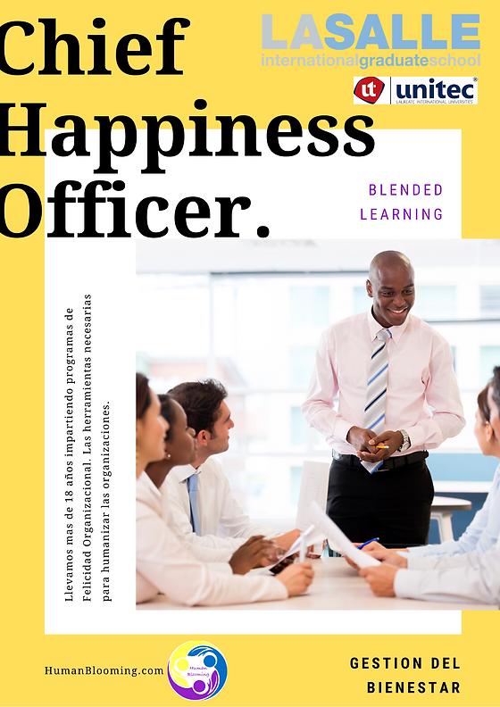 Folleto Human Blooming Chief Happiness O
