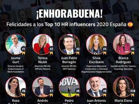 TOP 10 HR Influencers de España