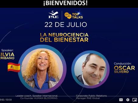 """Top Talks """"La neurociencia del bienestar"""""""
