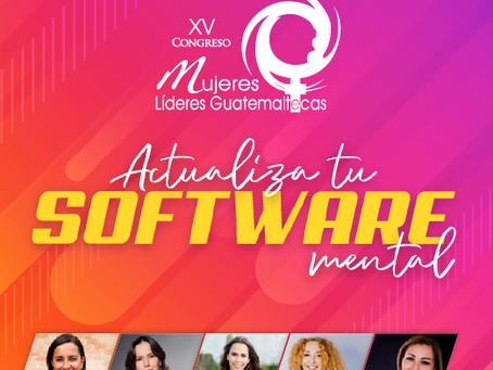 Silvia Escribano en el congreso de Mujeres Lideres de Guatemala