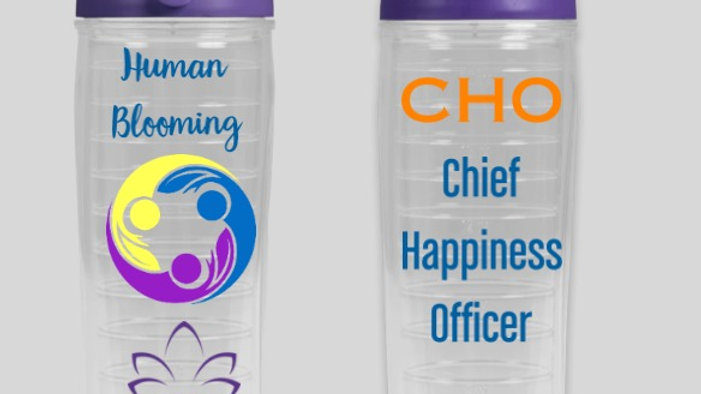 Chief Happiness Officer Water Bottle