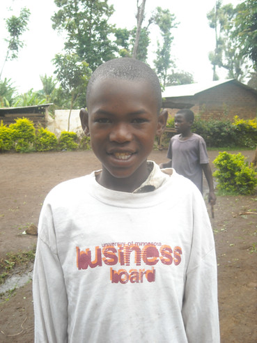 Maulidi at the orphanage in 2009 - always smiling!