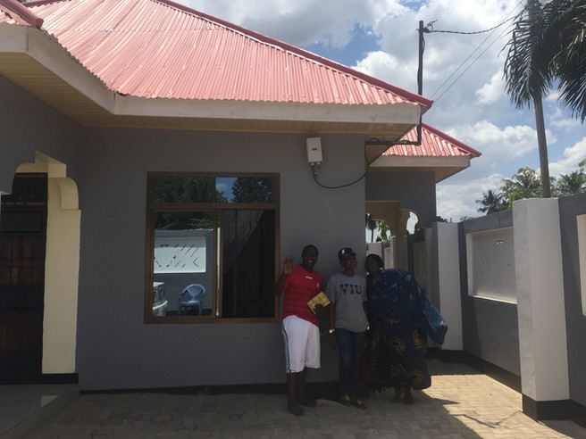 A safe and comfortable house for Aziza and her family
