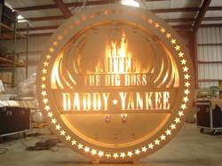 Daddy Yankee Burning Sign