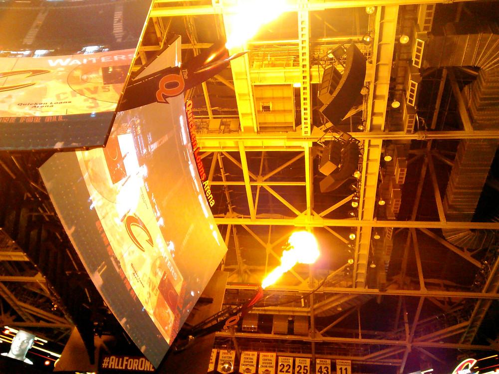 Cleveland Cavaliers Scoreboard Dragonflys.jpg