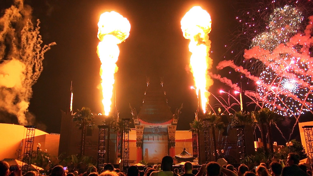 Disney Star Wars Fireworks Magma Flame Units