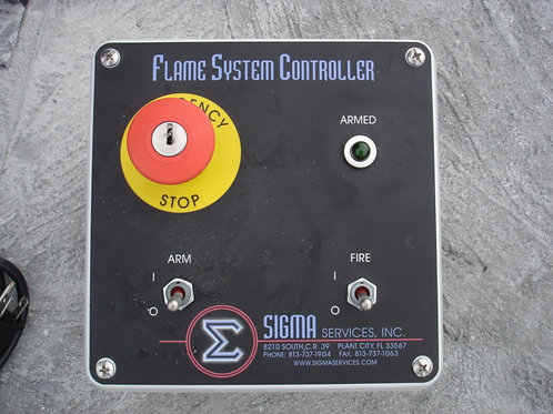 Single Channel Flame Controller