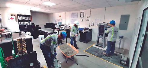 Laboratorio Constructora DISA concreto