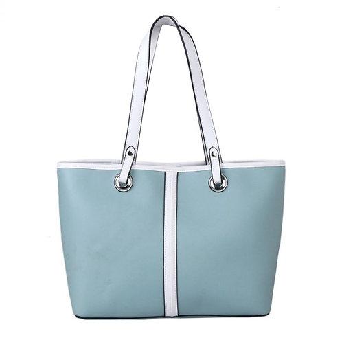 Aqua shoulder bag
