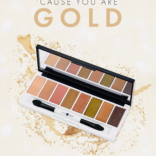 Golden Hour eye palette