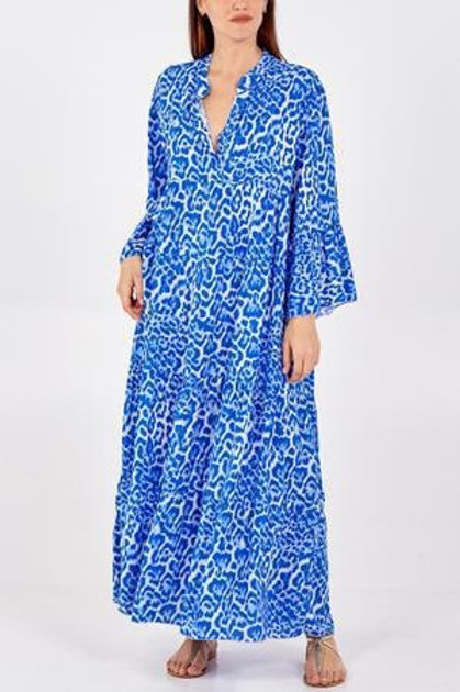 Cobalt blue  maxi dress