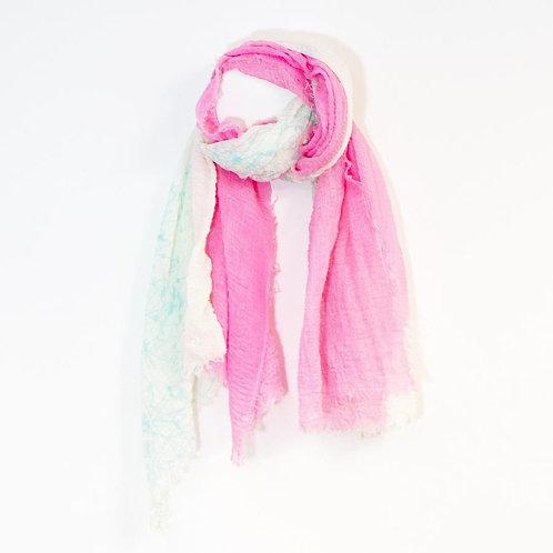 Pink/aqua 2 tone