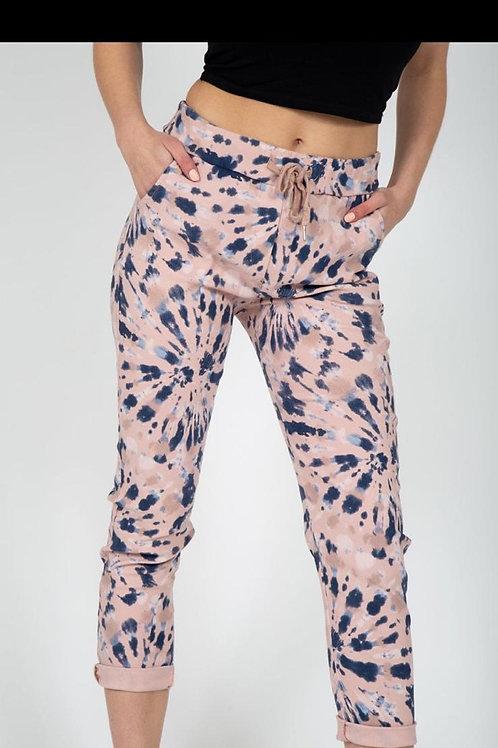 pink firework magic trousers