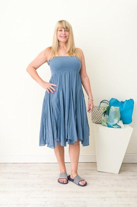 Blue skirt/dress