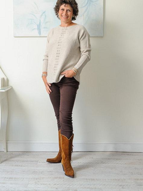Oatmeal jumper