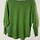 Thumbnail: Green embroidered sleeve top