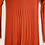 Thumbnail: Orange ribbed dress