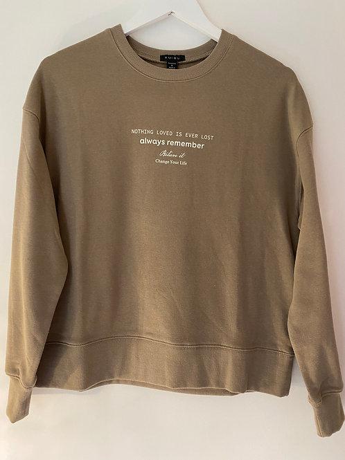 Mocha sweatshirt