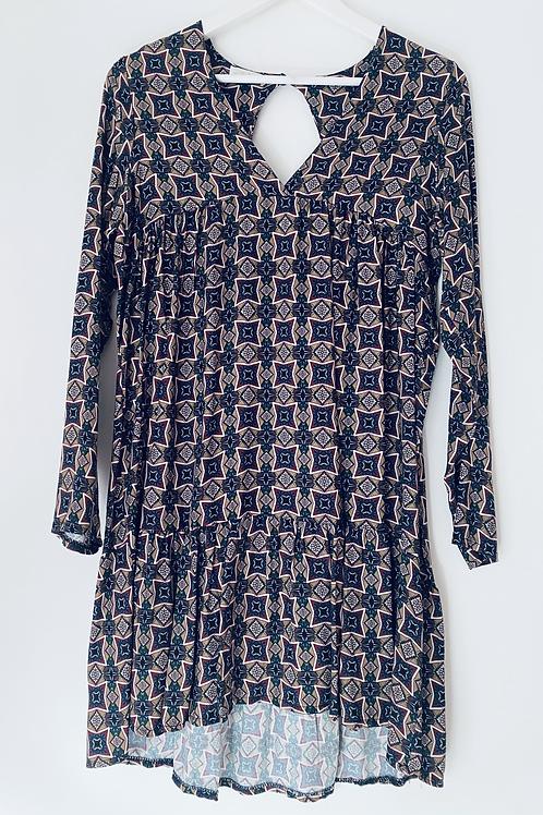 Multi smock dress
