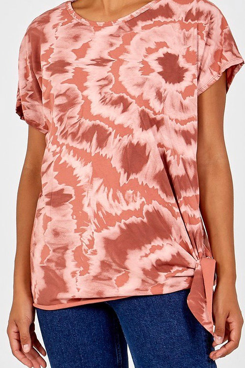 Terracotta side tie top