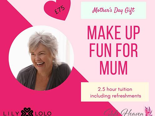 Make-up fun for Mum