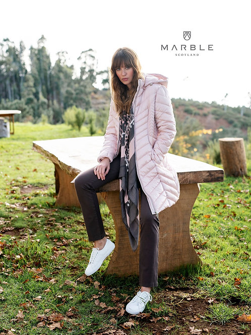 Pink/grey scarf