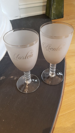 Custom vinglass