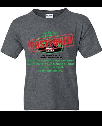 "2020 Grand Lake Campout ""Postponed"" Tee Shirt!"