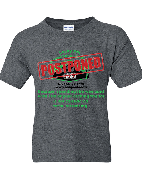 "2020 Grand Lake Campout ""Postponed"" Tee Shirt!"