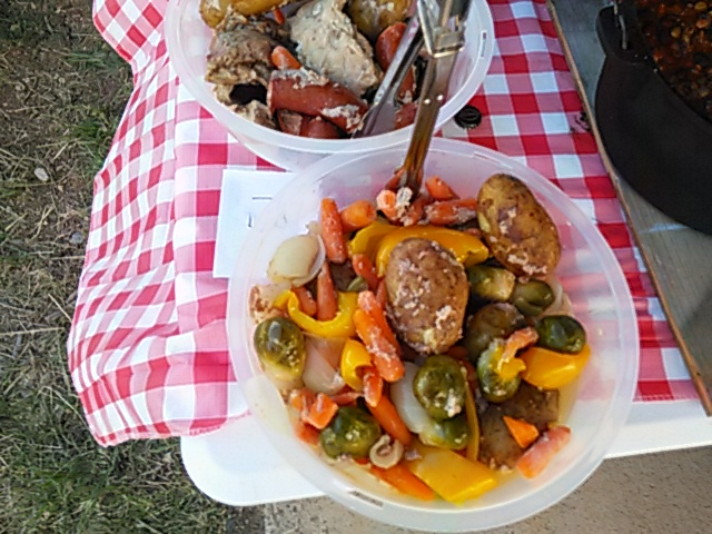Creative Camp Cookoff Food