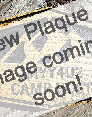 2020 Grand Lake Campout Plaque