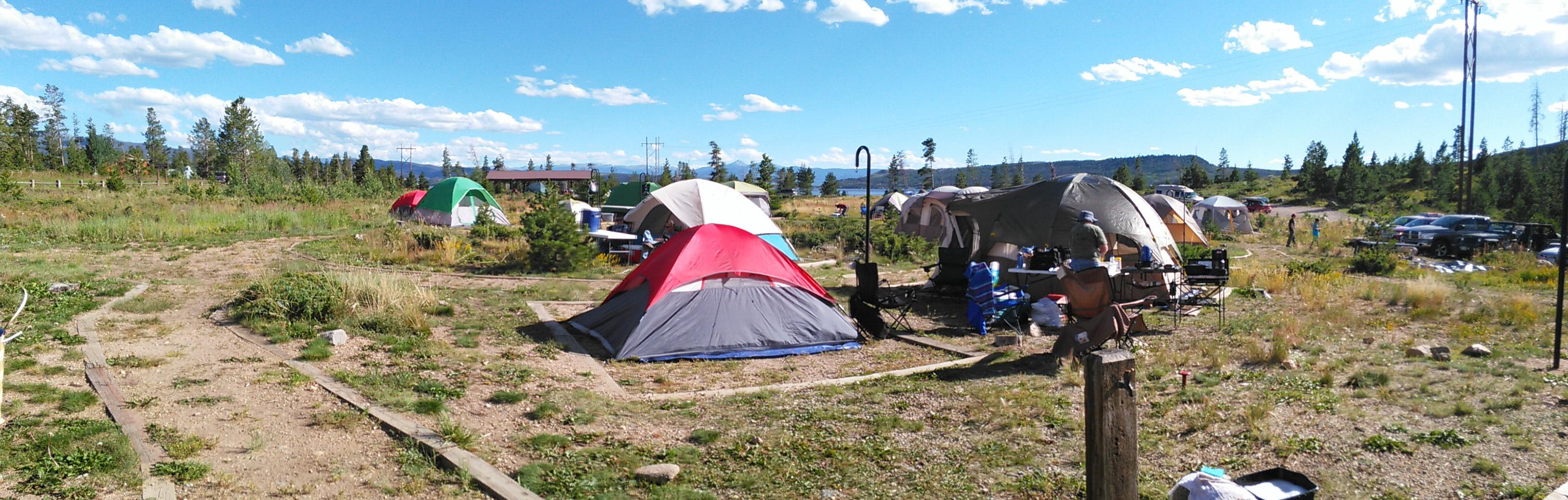 It is In Tents!