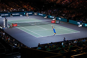 evisit verzorgt e-tickets, registratie, scannen en badges printen en onsite support voor voor ABN AMRO World Tennis Tournament