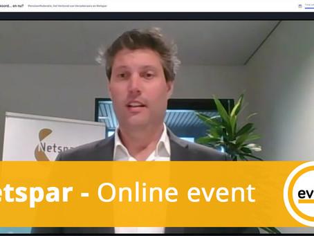 Digitale conferentie voor ruim 500 personen