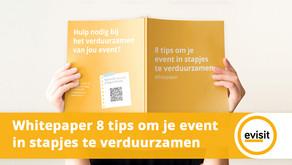 8 tips om jou event in stapjes te verduurzamen