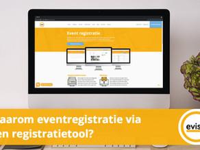 Waarom eventregistratie via een registratietool?